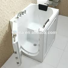walk in bathtub for elderly certificate indoor portable elderly walk in bathtub