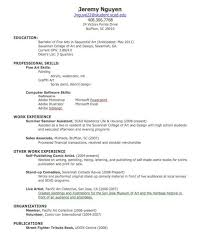 What To Put On A Resume For First Job A Good Resume Example