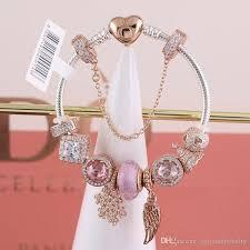 Großhandel Pandora Roségold Plattiert Christbaumschmuck Aus 925er Sterlingsilber Von Zhiyuanjewelry 16244 Auf Dedhgatecom Dhgate