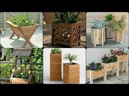 wooden planter design ideas designer