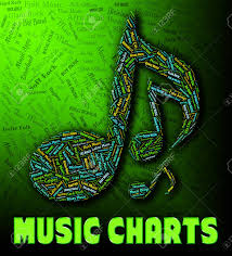 Music Hit Chart Chart Music Representing Hit Parade And Best