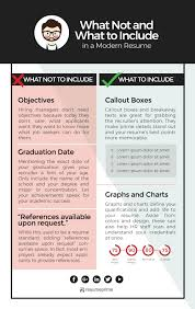 Modern Resume Infographics Modern Resume Add Ons And Tips For A Creative Job Application