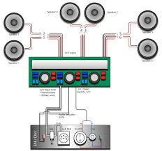 6 speakers 4 channel amp wiring diagram unique wiring diagram image kenwood 4 channel amp wiring diagram at 4 Channel Amp Wiring Diagram