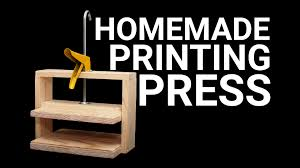 how to make a simple printing press