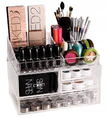 container storage organize your makeup with these 17 cool diy organizer from repurposed materials