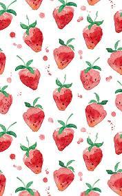 cute fruit iphone wallpaper. Wonderful Cute Wallpaper Clipart Strawberry 2 With Cute Fruit Iphone L