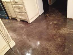 Heated Kitchen Floor Heated Stained Concrete Floor Diy By Eric And Julie My Projects
