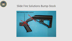 Bump stock (plural bump stocks). Bump Stocks Are Officially Illegal Starting Today What To Expect Goa