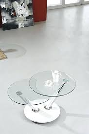 contemporary extending glass coffee table with ingenious design plus matching lamp tokyo clear top glass swivel