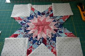 Lone Star Block tutorial - Hopeful Homemaker & sewnstar Adamdwight.com