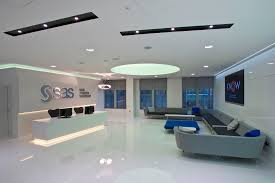 office receptions. Sleek, Futuristic Style Office Reception At SAS Receptions |