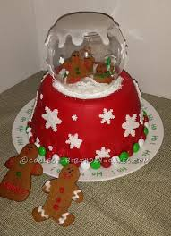 An adorable christmas cake by bunsintheoven cupcakery. Coolest Homemade Christmas Cakes
