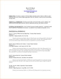 Flight Attendant Cv No Experience Coverter Examples Resume Cover
