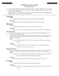 How To Cite Published Paper In Resume Preparing A Curriculum Vitae