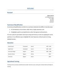 Entry Level Resume Examples Hloom Com