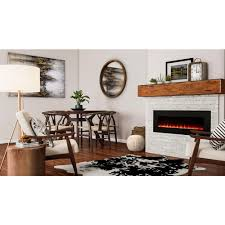home decorators collection trinidad 42 in wall mounted fireplace