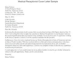 Dental Receptionist Cover Letter Dental Receptionist Cover Letter Sample No Experience Example