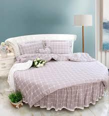 round bed brief stripe round corner