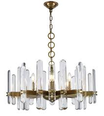 elegant lighting 1530d30bb rc lincoln 10 light 30 inch burnished brass chandelier ceiling light urban classic