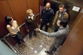 people stuck in elevator. \ people stuck in elevator o