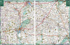 Карта дорог - Воронежская область. Подробная <b>карта автодорог</b> ...