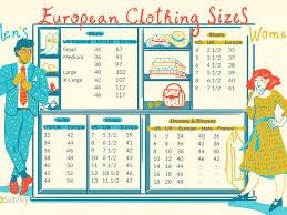 Size Chart Us To Europe Us Clothing Size Chart Vs Uk Coolmine Community School