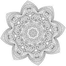 5 Free Printable Coloring Pages Mandala