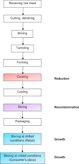 Meat Processing Flow Chart Relevance Of Microbial Finished Product Testing In Food