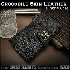 crocodile skin leather iphone x xs plus xs max xr flip case wallet cover custom wild hearts leather silver id ip2878r45