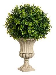 Decorative Boxwood Balls 100 Inches High Boxwood BallShaped Artificial Topiary Plant With 62