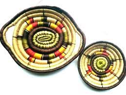 large wall basket wicker wall art wicker wall baskets la rattan wall basket large honey brown