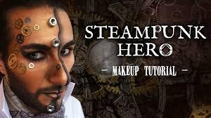 steunk hero makeup tutorial