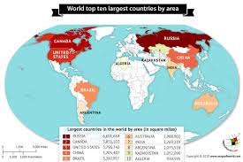 largest countries in the world by area