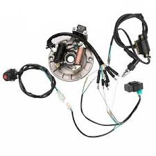 wire harness wiring loom cdi coil magneto spark plug 50 125 dirt pit image is loading wire harness wiring loom cdi coil magneto spark