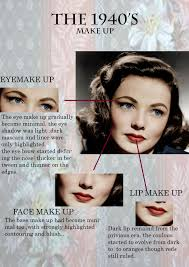 all about 1940s make up