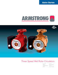 Armstrong Pump Cross Reference Chart Astro Series 3 Speed Circulators S A Armstrong Limited