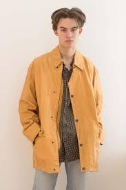 oversized leather nautica coat 1