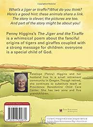 The Jiger and the Tiraffe: Penny Higgins: Amazon.com.au: Books