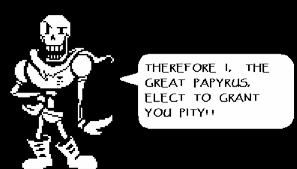 This font is used only once in undertale. Undertale Is Real Critical Teatime