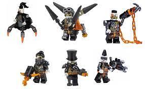 LEGO Ninjago: Army of 6 Dragon Hunters - Daddy No Legs Iron Baron Nitro Jet  Jack Heavy Metal Talon (6DragonHunterArmy)