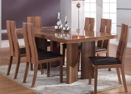 Modern Wood Dining Room Sets - Modern wood dining room sets