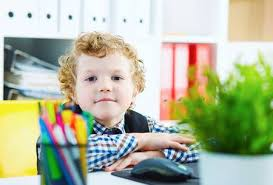student sitting at desk hands folded. Beautiful Sitting Little Caucasian Curly Boy Looking At Camera Sitting Computer In Office  Schoolboy Plays For Student Sitting At Desk Hands Folded T
