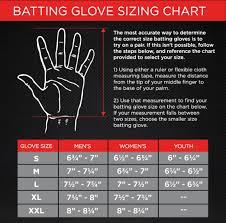 Glove Size Chart Softball Softball Batting Glove Size Chart