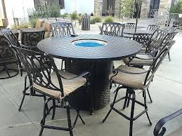 pub height patio table bar height outdoor table and chairs luxury fire bar bar height patio