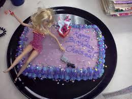 21st Birthday Cake Ideas With Drunk Barbie Classic Style Crazy
