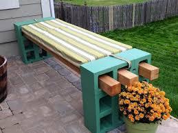 cinderblock furniture. Beautiful Furniture Cool DIY Patio Cinder Block Furniture Backyard With Cinderblock Furniture