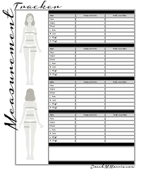 Beachbody Body Measurement Chart Body Measurements Tracking Sheet Freeletter Findby Co