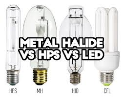 is there any difference between metal halide vs high pressure sodium vs led should i replace mh hps