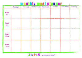 monthly meal planner template monthly meal planner template shatterlion info
