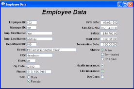 Form For Employee About Forms